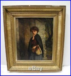 19th Century or Earlier 21 Framed EUROPEAN PORTRAIT OIL PAINTING On Canvas
