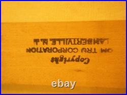 52 Large Tom Tru Vintage 1970s MCM Modern Abstract Wall Silkscreen Print Gaynor