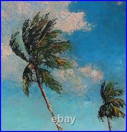 AL HAIR/A. E. BEANIE BACKUS Collaboration Painting (Highwaymen) 1960s