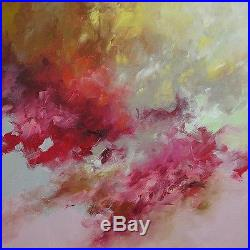 Abstract Art Painting Original Contemporary Acrylic on Canvas by Linda Monfort