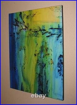 Abstract Painting Direct from Artist Modern Canvas Wall Art Large, USA ELOISExxx