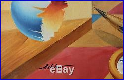 Alexander Astahov Surreal Original Oil on Canvas 24x36in. Titled Art Collector