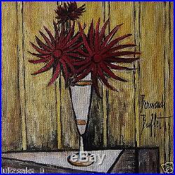 Auctioning original oil, on canvas painting, signed Bernard Buffet w COA & DOCS
