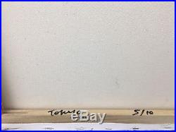 Beejoir Original Painting on Canvas Radiation Bird Signed 2003 5/10 Banksy