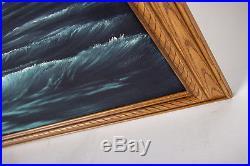 Bob Ross Original Oil on Canvas Night Light Season 3 episode 3 Certified
