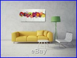 Bold Bright Blooms Original Contemporary Painting Canvas Art Caroline Ashwood