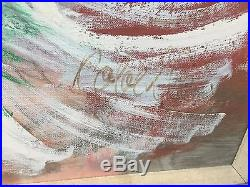 Charles Cobelle Original Large 27 X 40 Oil on Canvas Painting two ladies