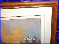 Charles Tatossian Garo Quebec Winter Scene Original Oil On Canvas Painting