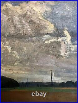 Clouds Over Open Landscape