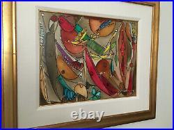 Cuban Artist Jose Maria Mijares Original Oil Painting 1997