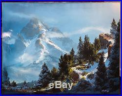 Dale Terbush ORIGINAL oil on canvas 30 X 40 1990