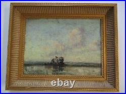 Dedrick Stuber Oil Painting Antique Early California Impressionist American
