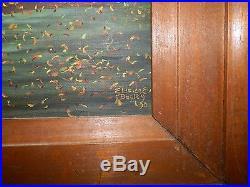 Eldridge Bagley Original Oil on Canvas 1990