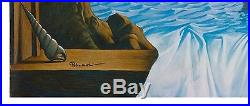 Eugene Poliarush Tree of Life Original oil on canvas Surreal Artist Window View
