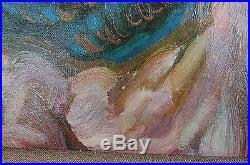 Francisco J. J. C. Masseria Oil on Canvas Painting of Boy original CUTE
