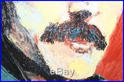 Freddie Mercury Original Acrylic Painting On Canvas 45cm x 35cm prints available
