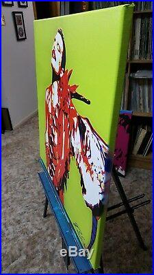 Freddie Mercury Original Pop Art on canvas