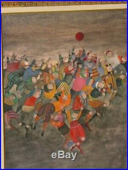 Graciela Rodo Boulanger Original Oil Painting on Canvas 22x29 Signed 1986