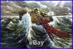 Grateful Dead Jack-A-Roe Original Art by Richard Biffle. Large Oil On Canvas