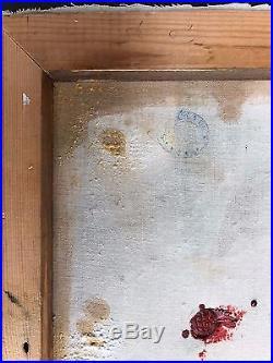 HENRI MATISSE handpaint on original canvas of 1930's Fauves