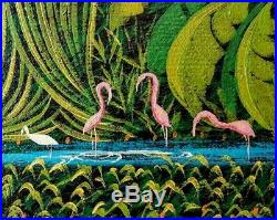 Henry Robert Bresil Original Oil on Canvas Painting by Late Haitian Master