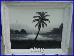 Highwaymen Painting, Florida Art, Issac Knight 16 X 20