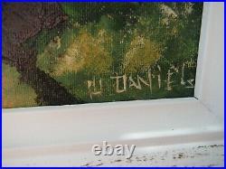 Highwaymen Painting, Florida Art, Willie Daniels 16 X 20