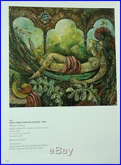 Irene Sierra Carreño, original acrylic on canvas Carrito Pesquero 2001