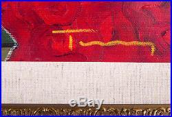 Izchak Tarkay Large Original Oil Painting On Canvas Original COA Mint 20k Retail