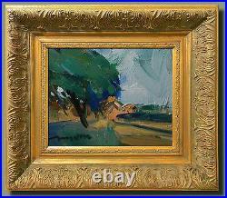 JOSE TRUJILLO SIGNED ORIGINAL Oil Painting FRAMED IMPRESSIONIST EXPRESSIONIIST