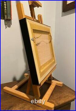 Jackie Smith Still Life Fish trio on canvas original art oil painting