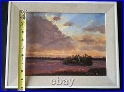 James F. Hutchinson Rare Original Florida Artist