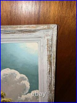 James Gibson Florida Highwaymen Oil Painting in Original Framing