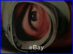 John Belushi Wild Bill Kelso Movie 1941 Original Painting on Canvas Signed # 1