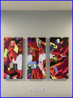 KAWS Original Canvas Print Modern Wall Art 27x36