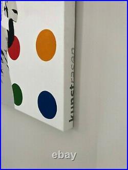 KUNSTRASEN Spot Remover ORIGINAL Canvas Art Signed RARE nt banksy whatson