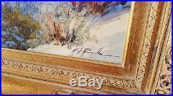Kirk Randle Original Oil on Canvas
