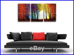 Large Abstract Landscape Painting Print On Canvas Original Wall Art Framed