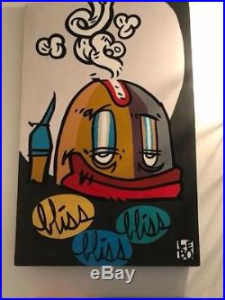 Lebo. David Le Batard. Bliss. Bliss. Bliss Original Acrylic On Canvas