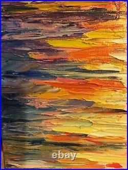 Leonid Afremov original Oil on canvas painting