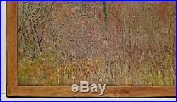 Listed FRENCH HENRI J MASSON Sd ORIGINAL OIL on Canvas IMPRESSIONIST LANDSCAPE