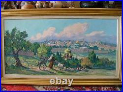 MARJORIE REED 1915-1997 Early California Arizona Western Impressionist
