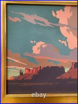 MESA NORTH OF MANY FARMS (2015) by Bill Schenck Oil Painting
