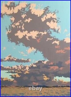 MORAN LANDSCAPE (2015) by Bill Schenck Oil Painting