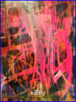 MR CLEVER ART ABSTRACT PAINTING #89 contemporary art deco street art graffiti op