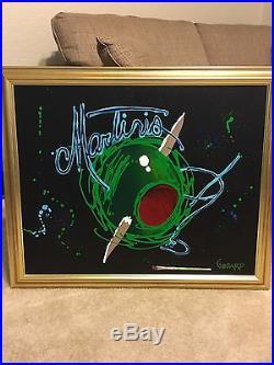 Michael Godard Original Martinis Acrylic on Canvas 24 x 30