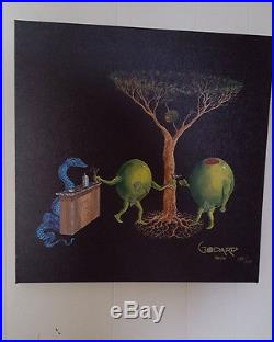 Michael Godard Original Sin- Signed Limited Edition Giclee on Canvas