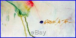 Michael Gorban Art Student Original Oil Painting on Canvas, Child Rainbow