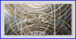 Modern Art Metal Canvas Wall Sculpture Painting on Metal Home Decor Jon Allen
