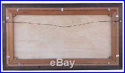 Montague J Dawson Original Oil on Canvas Clipper Ship at Dusk Signed